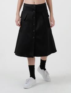 Wastu Black Military Skirt