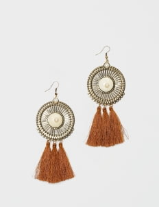 Giwang Brown  Lucy Earrings
