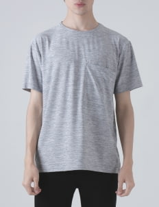 Moral Gray Dri-Fit Pocket T-shirt