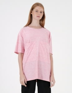 Moral Pink Dri-Fit Bi-Pocket T-Shirt