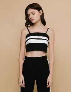 CLOTH INC Black Edge Bralette