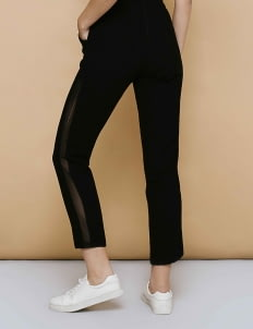 CLOTH INC Black Agile Mesh Pants