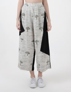 IMAJI Studio Monochrome Tree Woven Pants