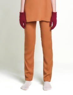 Leuca Caramel Riley Slim Leg Pants