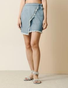 Goya Denim Moon Skirt