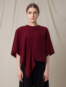Morningsol Red Rona Blouse