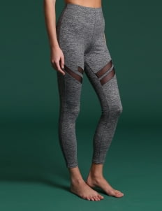 Wearstatuquo Gray Step Up Leggings