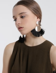 Giwang Black Nancy Earrings