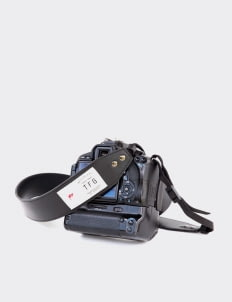 Taylor Fine Goods Black 203  Camera Strap