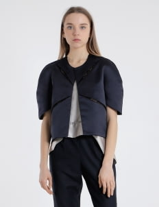 Aloes Navy Retha Outer
