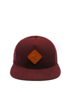 Cool Caps Maroon Basic Snapback