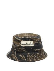 Cool Caps Camo Tiger Bucket Hat