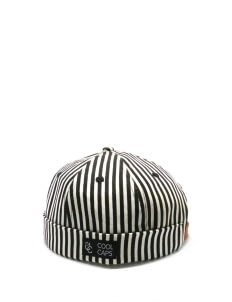 Cool Caps Black Stripe Beanie Cap