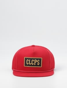 Cool Caps Red CLCPS Patch Snapback