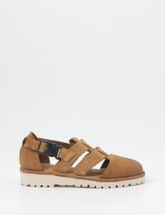 OWND Tan Gorkhas Suede Shoes