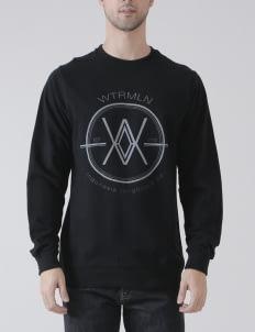 Watermelon Supply Co Yellow WM Logo Sweatshirt