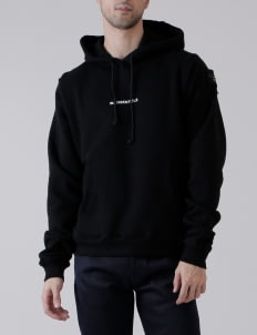 W.Essentiels Black Perrier Oversized Hoodie