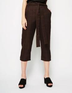 Bel. Corpo Brown Plaid Emelyn Pants