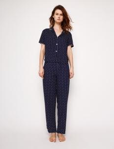 Harper House Print Alba Semi Pyjama Set