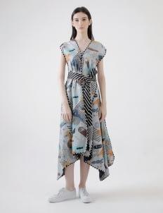 PURANA RTW Blue Stacey Dress