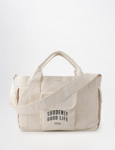 suddenly good life Cream Mote Daily Bag