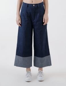 Calla The Label Blue Two Tone jeans