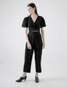 Calla The Label Black Linen Set
