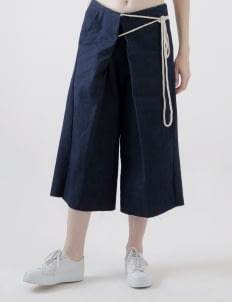 Calla The Label Denim Yeyoy Culottes with Rope