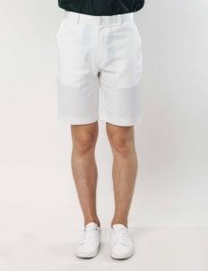 Gavi White Cotton Shorts
