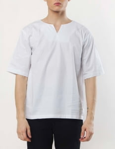 Gavi White Boxy Shirt