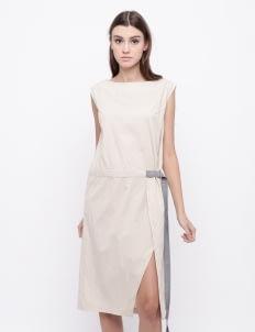 KOMMA Cream Esther Dress