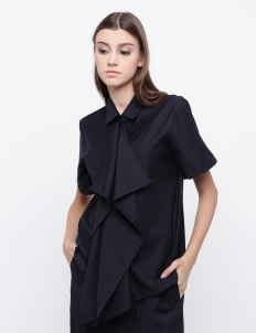 KOMMA Black Ivy Top
