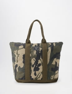 suddenly good life Camo Cadet Tote Bag