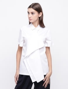 KOMMA White Ivy Top