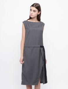 KOMMA Gray Esther Dress