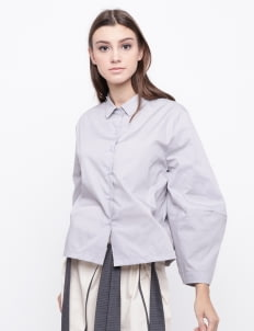 KOMMA Gray Rakel Shirt