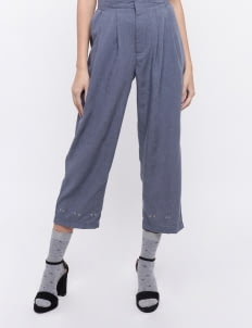 KOMMA Navy Ivy Pants