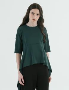 CORE ATTIRE Emerald Green Dita Top