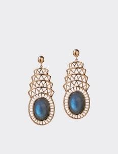 Alexandra Alberta Blue Labradorite Khrysler Earrings