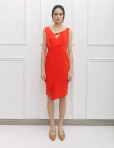 NADIYA Orange Vina Dress