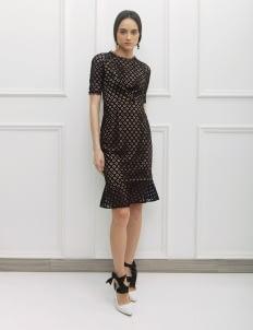 NADIYA Black Reese Dress