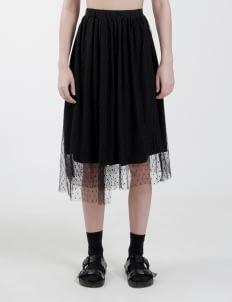 "Satchel Black ""That Day"" Wrap Skirt"