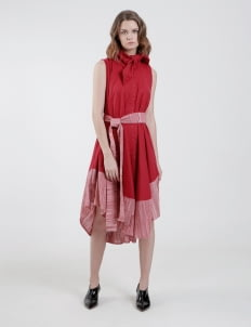 PURANA RTW Red Selina Dress