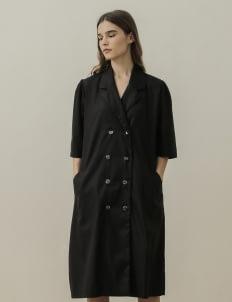 NANNA Black Tail Coat