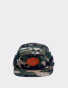 Cool Caps Green Camo Classic Mou Camp Cap