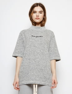 Muzca Misty Gray Love Junkie Tee In Siro Yarn