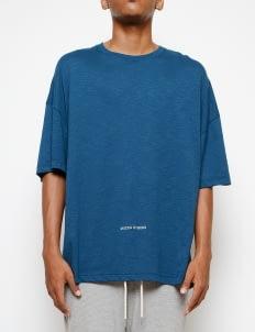 Muzca Dark Teal Fyou Reflective T-shirt