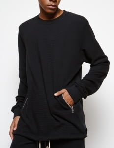 Muzca Black Essential Sweatshirt