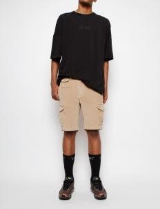 Muzca Khaki Corduroy Shorts