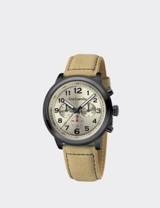 Guy Laroche Light Brown G3012-02 Leather Watch